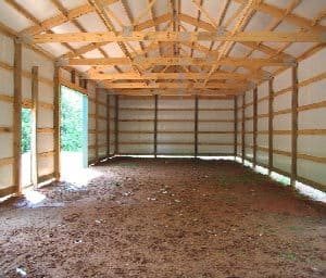 Metal Buildings with Wood Framing Installation ...